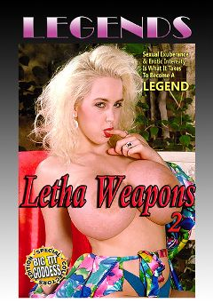 "Adult entertainment movie ""Legends: Letha Weapons 2"" starring Letha Weapons, John Leslie & Buck Adams. Produced by Golden Age Media."