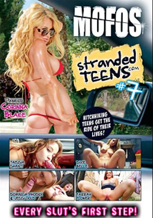 Stranded Teens 7, starring Corinna Blake, Jessi Gold, Farrah Flower, Taissia Shanti, Dominica Phoenix, Dixie Belle and Bruno Dickems, produced by MOFOS.