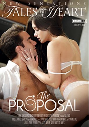 The Proposal, starring Gia Paige, Stevie Foxx, Adria Rae, Abella Danger, Tyler Nixon, Logan Pierce, Ryan McLane and Derrick Pierce, produced by New Sensations.