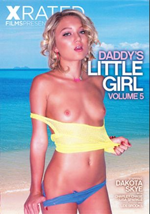 Daddy's Little Girl 5, starring Dakota Skye, Chad Alva, Lexi Brooks, Charley Chase, Christian XXX and Lisa Sparkle, produced by X Rated Films.