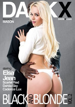 Straight Adult Movie Black And Blonde 2 - front box cover