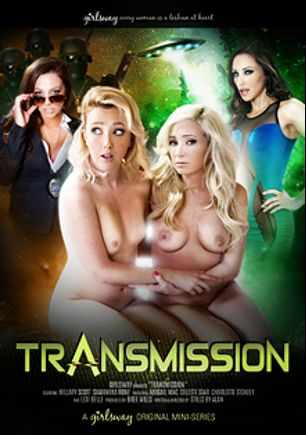 Transmission, starring Abigail Mac, Charlotte Stokely, Hillary Scott, Celeste Star, Samantha Rone and Lexi Belle, produced by Girlsway.