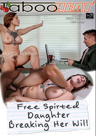 Harlow Harrison In Free Spirited Daughter Breaking Her Will, starring Harlow Harrison and Luke Longly, produced by Taboo Heat.