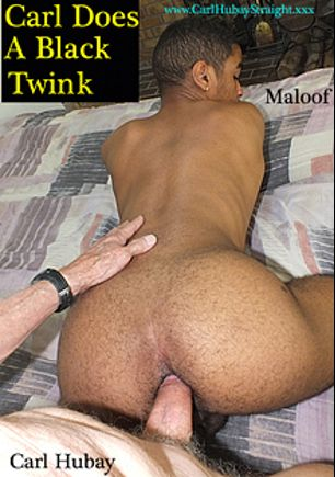 Carl Does A Black Twink, starring Carl Hubay and Maloof, produced by Hot Dicks Video.