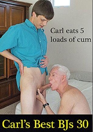 Carl's Best Blowjobs 30, starring Carl Hubay, Trevor (Hot Dicks Video), Paul (Hot Dicks Video), Dallas (Hot Dicks Video), Connie (Hot Clits), Jude Marx and Ari (m), produced by Hot Dicks Video.