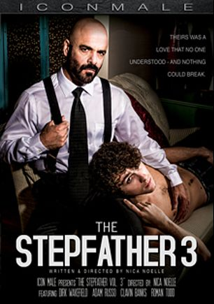 The Stepfather 3, starring Adam Russo, Calvin Banks, Dirk Wakefield and Roman Todd, produced by Mile High Media and Iconmale.
