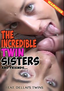 The Incredible Twin Sisters and Friends, starring Silvia Dellai, Eveline Dellai, Ornella Morgan, Penelope Cum and Dani, produced by Safado.