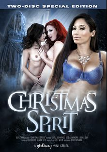 Christmas Spirit, starring Jenna Reid, Elle Alexandra, Shyla Jennings, Reena Sky and Rayveness, produced by Girlsway.