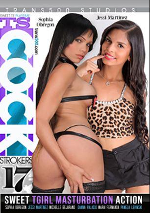 TS Cock Strokers 17, starring Jessi Martinez, Pamela Levinski, Maria Fernanda, Sophia Obregon, Michelle Bejarano and Danna Palacio, produced by Trans500 Studios.