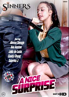 A Nice Surprise, starring Alessa Savage, Ava Austen, Kris Weston, Remis Rodriguez, Candy Chang, Dru Hermes, Luke Hot Rod, Julia De Lucia, Sabrina Jay and Dirty Dan, produced by UK Sinners.