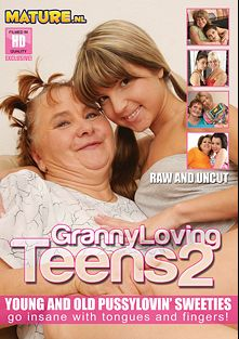Granny Loving Teens 2, starring Gina Gerson, Netty (f), Anne, Erica, Susie, Linda, Caroline, Carol and Lea, produced by Mature.