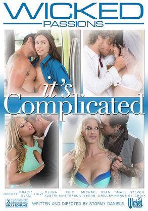 Straight Adult Movie It's Complicated - front box cover