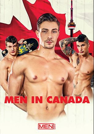 Men In Canada, starring Carter Dane, Pierre Fitch, Dustin Holloway, Caleb King and Diego Sans, produced by Men.