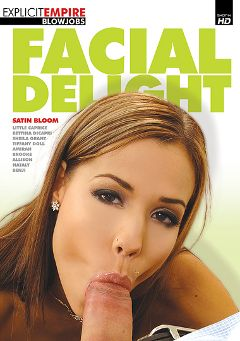 "Adult entertainment movie ""Facial Delight"" starring Satin Bloom, Shayla Green & Amirah Adara. Produced by Explicit Empire."