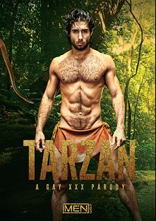 Tarzan A Gay XXX Parody, starring Diego Sans, Tobias (Bromo), Colton Grey and Luke Adams, produced by Men.
