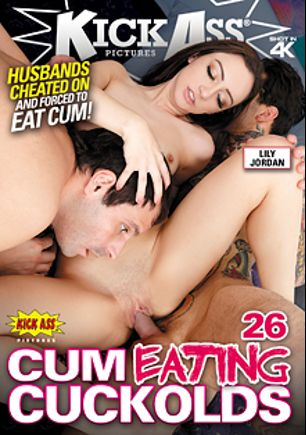 Cum Eating Cuckolds 26, starring Lily Jordan, Avery Moon, Bobbi Dylan and Edyn Blair, produced by Kick Ass Pictures.