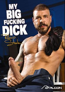 My Big Fucking Dick: Rocco Steele, starring Rocco Steele, Boomer Banks, Kyle Kash, David Benjamin, Bruno Bernal, Seamus O'Reilly, Brian Bonds and Mitch Vaughn, produced by Falcon Studios and Falcon Studios Group.