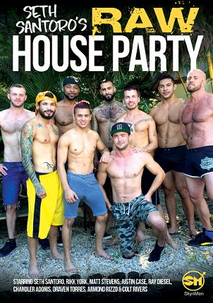 Gay Adult Movie Seth Santoro's Raw House Party