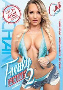 Freaky Petite 2, starring Cali Carter, Lily Jordan, Bailey Brooke and Gabriella Paltrova, produced by ArchAngel.