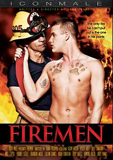 Firemen, starring Billy Santoro, Brandon Wilde, Adam Russo, Kyler Grey, Calvin Banks, Tryp Bates, Noah Donovan, Armond Rizzo, Andy Banks, Rodney Steele and Nick Capra, produced by Mile High Media and Iconmale.