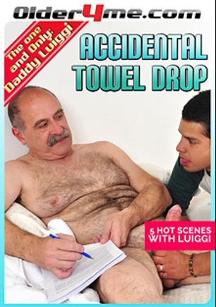 Accidental Towel Drop, starring Daddy Luiggi, produced by Older4Me.