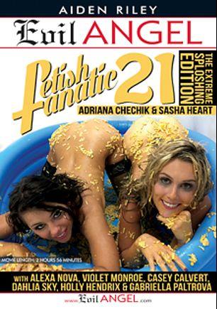 Fetish Fanatic 21, starring Holly Hendrix, Gabriella Paltrova, Alexa Nova, Adriana Chechik, Casey Calvert, Dahlia Sky, Violet Monroe and Sasha Heart, produced by Evil Angel and Belladonna Entertainment.