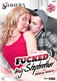 "Featured Category - International presents the adult entertainment movie ""Fucked My Stepbrother""."