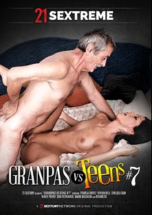 Grandpas VS Teens 7, starring Nikky Perry, Chelsea Sun, Vivien Bell, Elis Black, Mark Magnum, Bruno Sx and Don Fernando, produced by 21 Sextreme.
