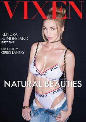 Straight Adult Movie Natural Beauties - front box cover