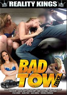 Bad Tow Truck, starring Samantha Hayes, Amanda Lane, Molly Manson, Peter Green, Gwen Stark, Iggy Amore, Devyn Heart, Kylie Sinner, Tomi Taylor, Brad Knight, Karlee Grey, Jade Nile, Nickey Huntsman, Alexis Fawx, Veronica Rodriguez and Juan Largo, produced by Reality Kings.