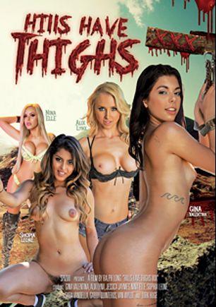 Hills Have Thighs XXX, starring Gina Valentina, Alix Lynx, Nina Elle, Shopia Leone, Van Wylde, Dirk Huge, Gabby Quinteros, Sarah Vandella and Jessica Jaymes, produced by Spizoo.