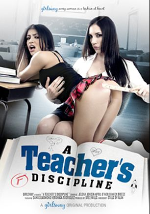 A Teacher's Discipline, starring Veronica Rodriguez, Jelena Jensen, Bianca Breeze, April O'Neil and Dana DeArmond, produced by Girlsway.