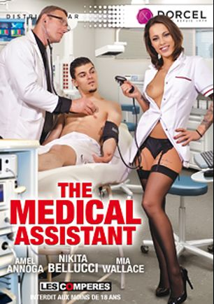 The Medical Assistant, starring Nikita Bellucci, Mia Wallace, Avec, Amel Annoga, Phil Hollyday and Pascal St. James, produced by Marc Dorcel SBO and Marc Dorcel.