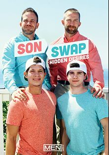 Son Swap Hidden Desires, starring Nicoli Cole, Adam Herst, Ryan Wilcox and Will Braun, produced by Men.