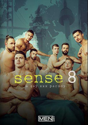 Sense8: A Gay XXX Parody, starring Sunny Colucci, Hector De Silva, Dato Foland, Gabriel Cross, Logan Moore, Darius Ferdynand, Paddy O'Brian and Jay Roberts, produced by Men.