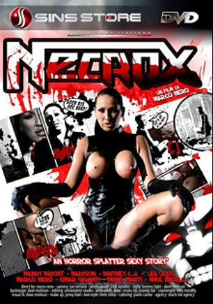 Necrox, starring Janka Kiss, Madison Parker, Mandy Bright, C.J. (f), Lea Lush, Omar Galanti and Marco Nero, produced by Pinko Enterprises.