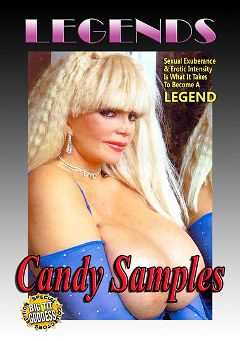 "Adult entertainment movie ""Legends: Candy Samples"" starring Candy Samples. Produced by Golden Age Media."