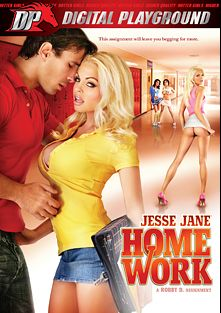 Jesse Jane: Homework, starring Jesse Jane, Vanessa De Leon, Kerry Louise, Franziska Facella, Tori Black, Scott Nails, James Deen, Mick Blue and Manuel Ferrara, produced by Digital Playground.
