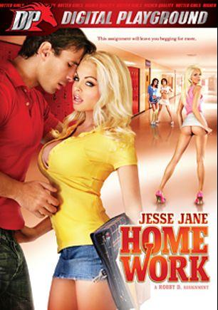 Jesse Jane: Homework, starring Jesse Jane, Vanessa De Leon, Kerry Louise, Franziska Facella, Tori Black, Scott Nails, James Deen, Mick Blue and Manuel Ferrara, produced by Digital Playground.