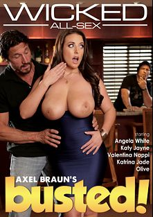 Axel Braun's Busted, starring Angela White, Olive Dundee, Katy Jayne, Lucas Frost, Small Hands, Katrina Jade, Valentina Nappi, Ryan McLane, Ryan Driller and Tommy Gunn, produced by Wicked Pictures.