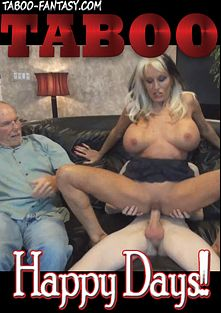 Happy Days, starring Sally D'Angelo, Connor Cox, Alora Jaymes and Stacie, produced by Taboo-Fantasy.