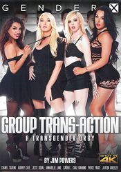 Straight Adult Movie Group Trans-Action: A Transgender Orgy