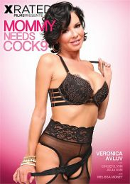 "Featured Star - Veronica Avluv presents the adult entertainment movie ""Mommy Needs Cock 9""."