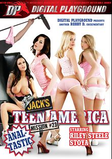 Jack's Teen America: Mission 23, starring Riley Steele, Stoya Doll, Emy Reyes, Angelina Valentine, Scott Nails, Ariel Summers, James Deen, Mick Blue and Erik Everhard, produced by Digital Playground.