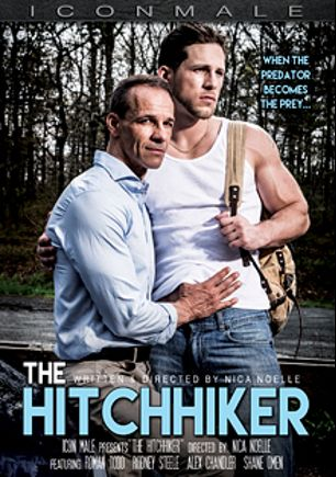 The Hitchhiker, starring Roman Todd, Rodney Steele, Shane Omen and Alex Chandler, produced by Mile High Media and Iconmale.