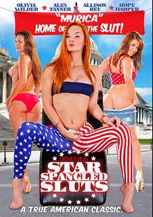 Star Spangled Sluts, starring Hope Harper, Alison Rey, Alex Tanner and Olivia Wilder, produced by Devil's Film and Devils Film.