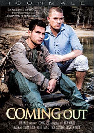 Coming Out, starring Vadim Black, Billie Ramos, Brandon Wilde and Nick Sterling, produced by Iconmale and Mile High Media.