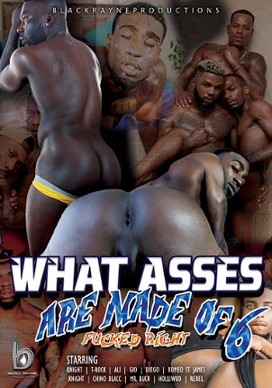 Gay Adult Movie What Asses Are Made Of 6: Fucked Right