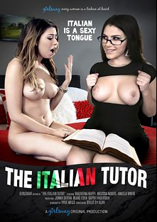 The Italian Tutor, starring Melissa Moore, Valentina Nappi, Blake Eden, Jenna Sativa, Capri Anderson and Angela White, produced by Girlsway.