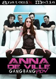 "Just Added presents the adult entertainment movie ""Anna De Ville Gangbang POV""."